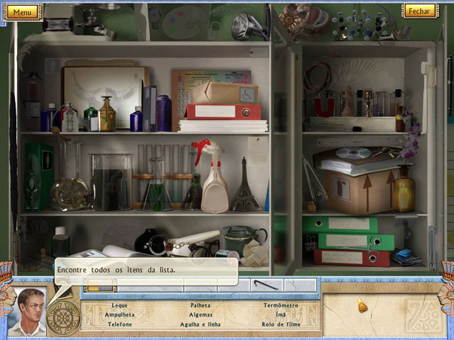 Screenshot Do Jogo 1 Alabama Smith in the Quest of Fate