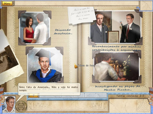 Screenshot Do Jogo 2 Alabama Smith in the Quest of Fate