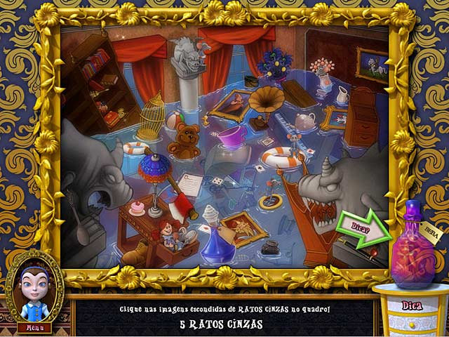 Screenshot Do Jogo 3 Alice's Magical Mahjong