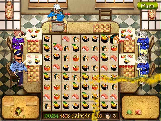 Screenshot Do Jogo 3 Asami's Sushi Shop