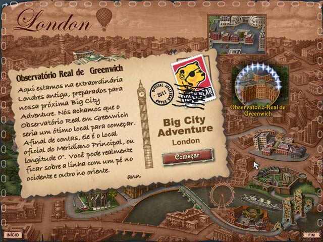 Screenshot Do Jogo 3 Big City Adventure: London Classic