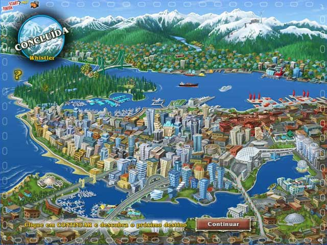 Screenshot Do Jogo 3 Big City Adventure: Vancouver