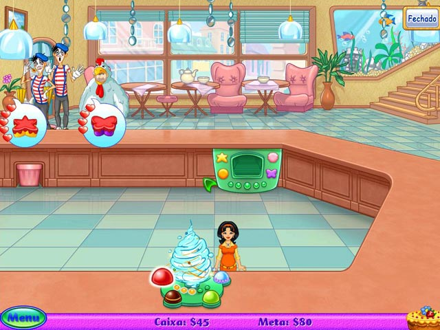 Screenshot Do Jogo 1 Cake Mania: Lights, Camera, Action!