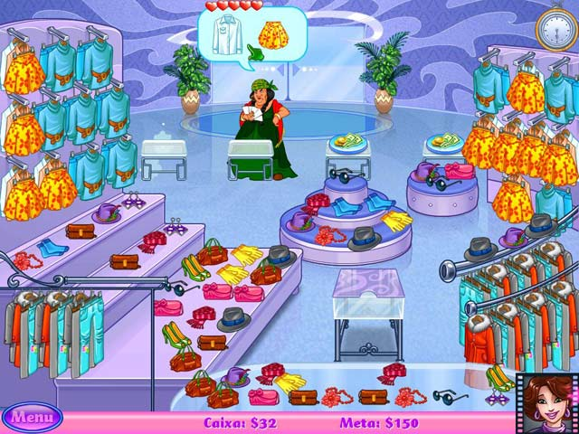 Screenshot Do Jogo 3 Cake Mania: Lights, Camera, Action!