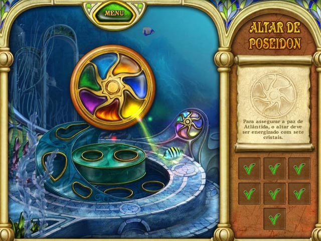 Screenshot Do Jogo 2 Call of Atlantis