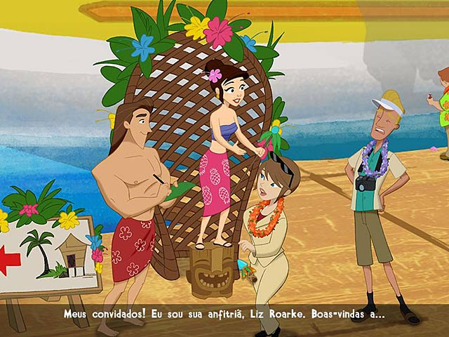 Screenshot Do Jogo 2 Coconut Queen