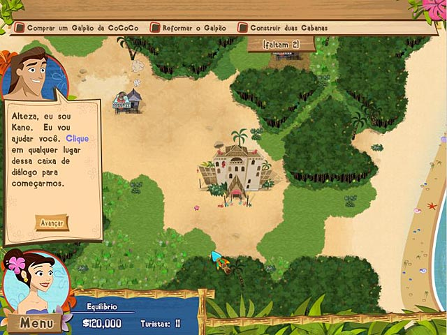 Screenshot Do Jogo 3 Coconut Queen