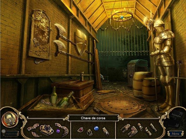 Screenshot Do Jogo 3 Dark Parables: A Maldição de Briar Rose