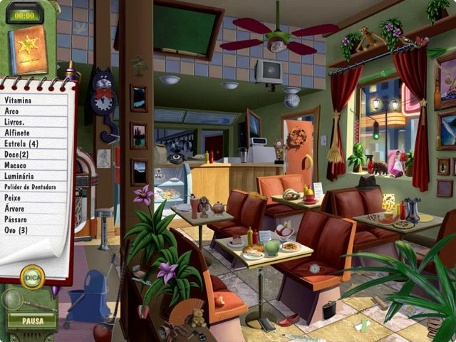 Screenshot Do Jogo 1 DinerTown: Detective Agency