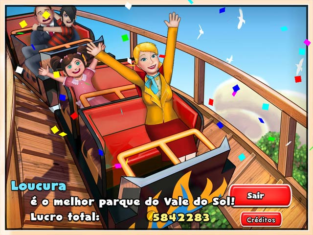 Screenshot Do Jogo 2 Dream Builder: O Parque de Diversões