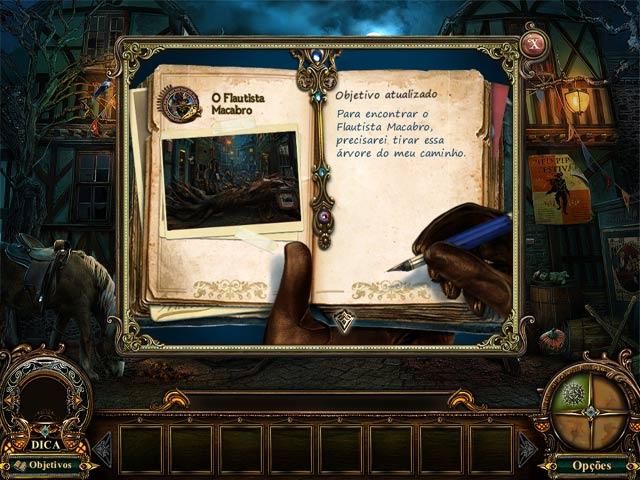 Screenshot Do Jogo 1 Fabled Legends: O Flautista Macabro