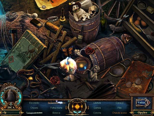 Screenshot Do Jogo 3 Fabled Legends: O Flautista Macabro