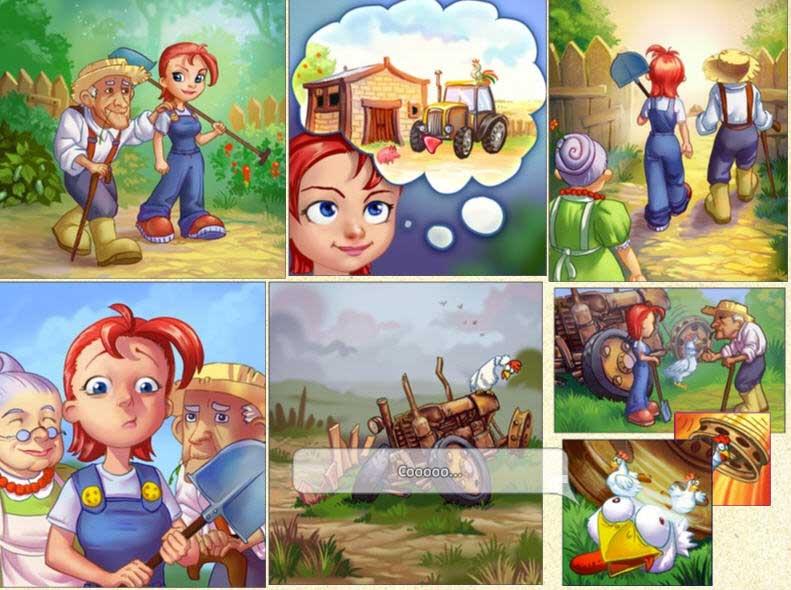 Screenshot Do Jogo 3 Farm Craft