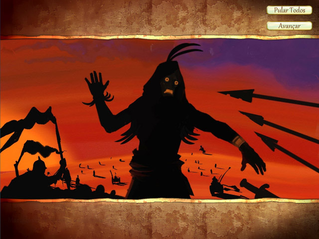 Screenshot Do Jogo 2 Fate of the Pharaoh