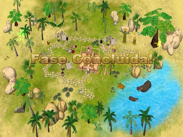 Screenshot Do Jogo 3 Fate of the Pharaoh