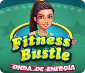 Característica Screenshot Do Jogo Fitness Bustle: Onda de Energia