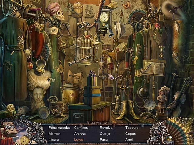 Screenshot Do Jogo 1 Grim Façade: O Misterio de Veneza
