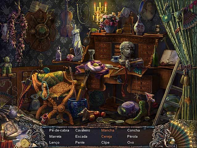 Screenshot Do Jogo 3 Grim Façade: O Misterio de Veneza