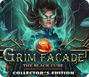 Característica Screenshot Do Jogo Grim Facade: The Black Cube Collector's Edition