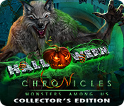 Característica Screenshot Do Jogo Halloween Chronicles: Monsters Among Us Collector's Edition