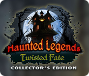 Característica Screenshot Do Jogo Haunted Legends: Twisted Fate Collector's Edition