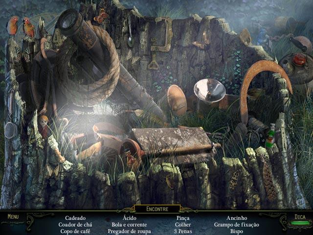 Screenshot Do Jogo 1 Haunting Mysteries: A Ilha das Almas Perdidas