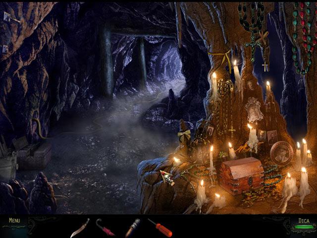 Screenshot Do Jogo 3 Haunting Mysteries: A Ilha das Almas Perdidas