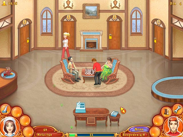 Screenshot Do Jogo 1 Jane's Hotel Mania