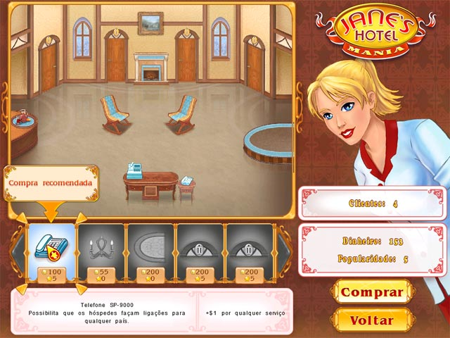 Screenshot Do Jogo 3 Jane's Hotel Mania