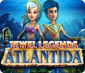 Característica Screenshot Do Jogo Jewel Legends: Atlântida