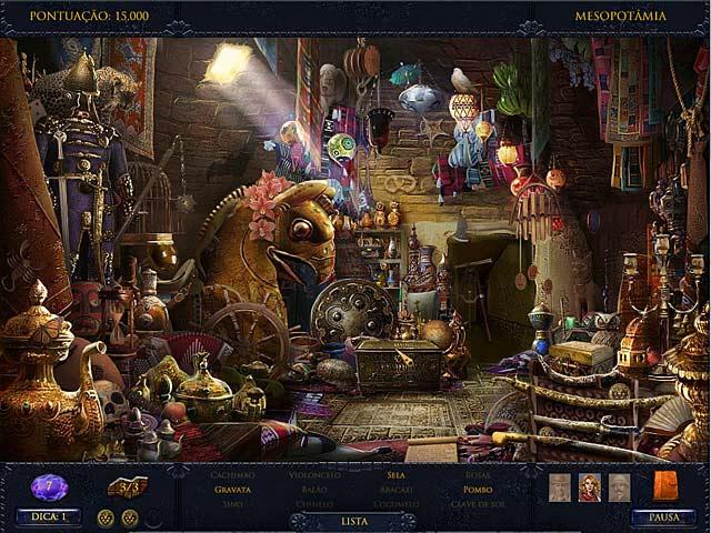 Screenshot Do Jogo 3 Jewel Quest Mysteries: O Oráculo de Ur