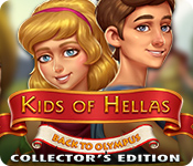 Característica Screenshot Do Jogo Kids of Hellas: Back to Olympus Collector's Edition