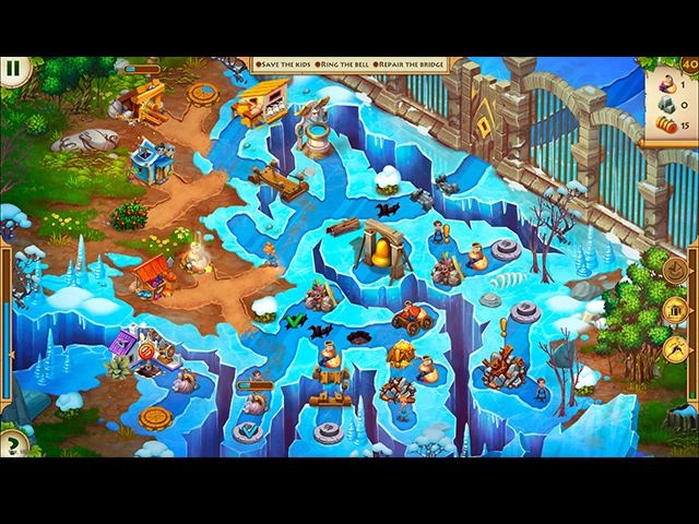 Screenshot Do Jogo 3 Kids of Hellas: Back to Olympus Collector's Edition