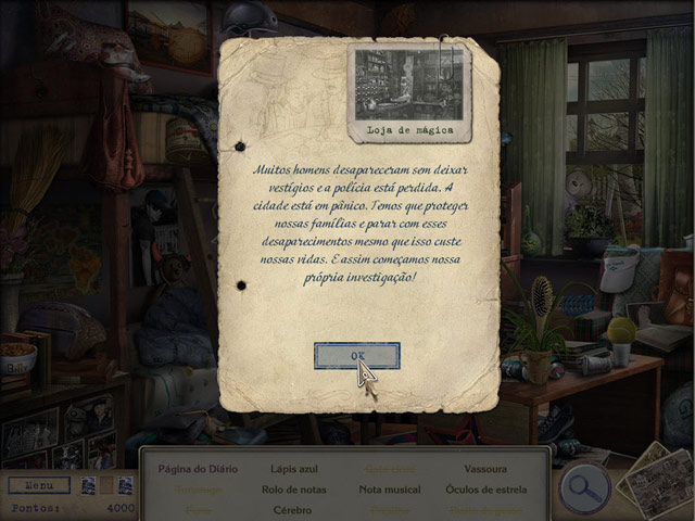 Screenshot Do Jogo 2 Letters from Nowhere 2