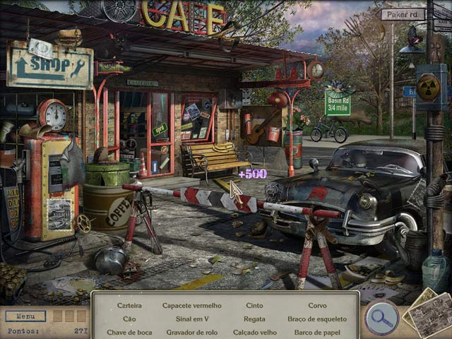 Screenshot Do Jogo 3 Letters from Nowhere 2