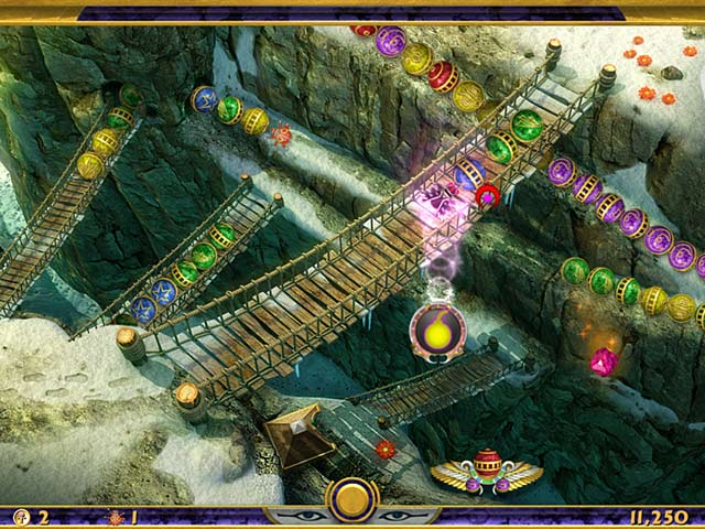 Screenshot Do Jogo 2 Luxor: Quest for the Afterlife