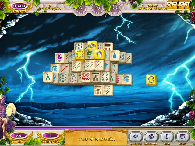 Mahjong Mysteries: Ancient Athena img