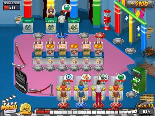 Screenshot Do Jogo 3 Megaplex Madness: Em Exibição