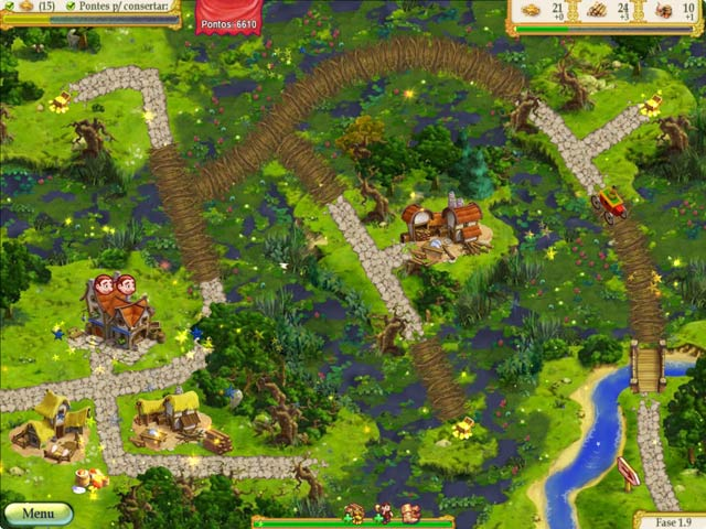 Screenshot Do Jogo 1 My Kingdom for the Princess