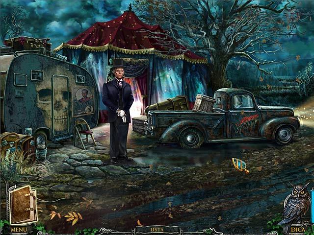 Screenshot Do Jogo 3 Mystery Heritage: O Sinal do Espírito