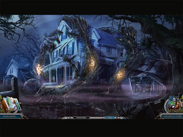 Screenshot Do Jogo 2 Mystery Trackers: Nightsville Horror Collector's Edition