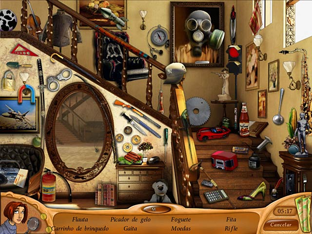 Screenshot Do Jogo 1 Natalie Brooks: Secrets of Treasure House