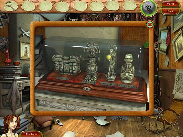 Screenshot Do Jogo 2 Natalie Brooks: The Treasures of Lost Kingdom