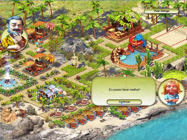 Screenshot Do Jogo 2 Paradise Beach