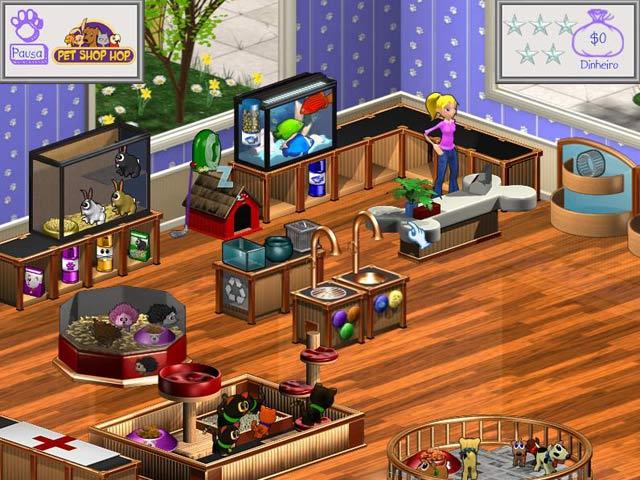 Screenshot Do Jogo 1 Pet Shop Hop