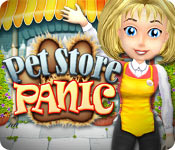 Característica Screenshot Do Jogo Pet Store Panic