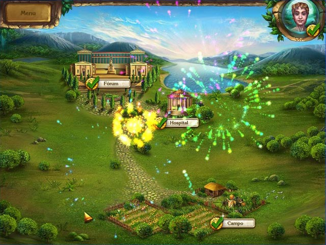 Screenshot Do Jogo 2 Romance of Rome