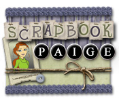 Característica Screenshot Do Jogo Scrapbook Paige