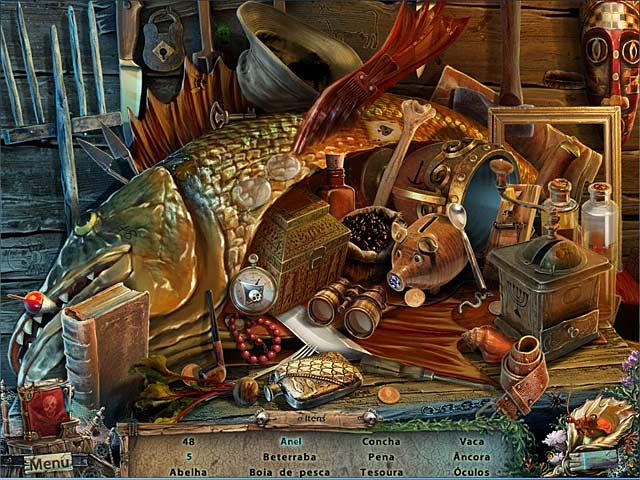 Screenshot Do Jogo 3 Secrets of the Sea: O Holandês Voador