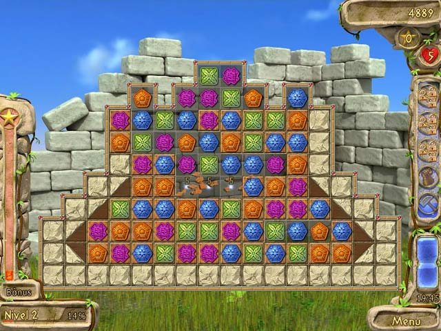 Screenshot Do Jogo 1 Secrets of Olympus